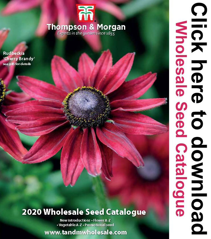 Wholesale Seed Catalogue from Thompson & Morgan Wholesale